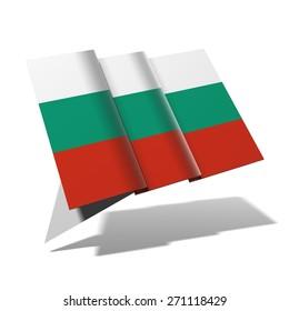 Bulgaria flag 3D banner