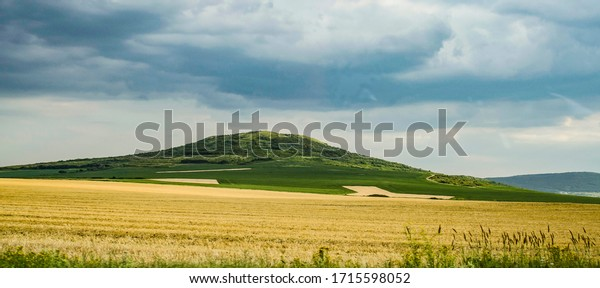 Bulgaria, The Thracian region. Circa 2015. A crop field in South Eastern Europe. The COVID-19 crisis rise many questions about the 2020 harvest and the local agriculture as a whole.