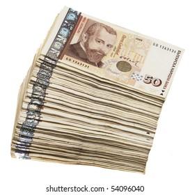 Bulgarian  banknotes money