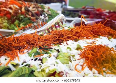 Bulgarian and carrot salad