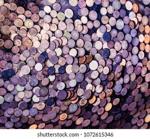 Bulgarian  coins texture