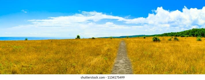 Bulgaria.View of coast near Sinemorets in Bulgaria.