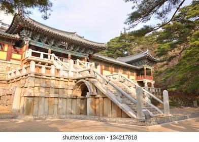 Bulguksa temple, Gyeongju, South Korea