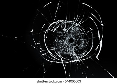 Bullet Hole Glass Images, Stock Photos & Vectors | Shutterstock