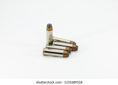 bullet Partially Jacketed Hollow Point or Semi Jacketed Hollow Point isolate on white background