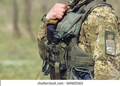 Bulletproof vest, body armor covers, waterproof Camouflage