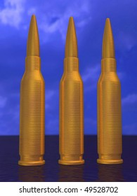 bullets 3d