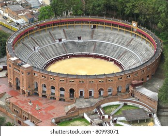 Bullring in the centre of Bogota, Cundinamarca, Colombia