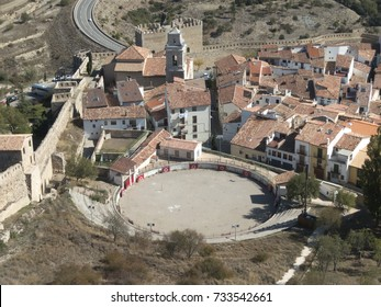 Bullring of Morella (Teruel), in the region of Maestrazgo, Spain