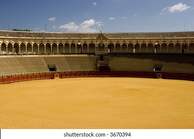Bullring in Seville, Andalusia, Spain