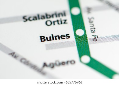 Subway Map Of Buesnos Aries Olleros Station.Olleros Station Buenos Aires Metro Map Stock Photo Edit Now