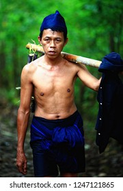 Bulukumba, South Sulawesi, Indonesia : Portrait of Kajang Tribe people, an indegenouse tribe in Bulukumba, South Sulawesi (09/2013).