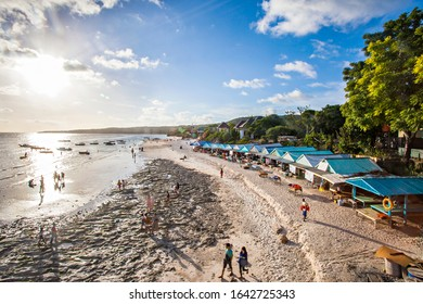 Bulukumba, South Sulawesi, Indonesia : Tourists enjoying the beauty of Tanjung Bira Beach, a popular tourist destination in Bulukumba, Indonesia (08/2013)