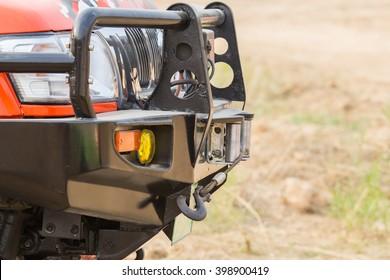 Bumper off-road car .