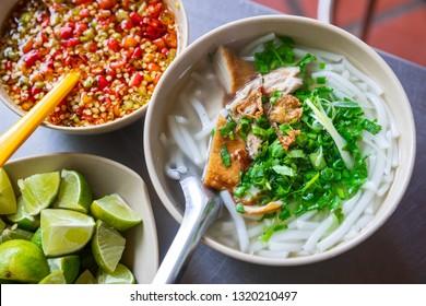 Bun ca, Vietnamese fish noodle from Nha Trang