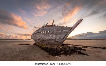 Bunbeg shipwreck Cara Na Mara Ireland