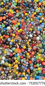 Bunch of Bijoux and Artificial Gem Stones for Jewellery Making
