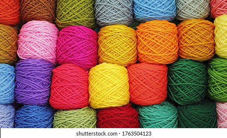 Bunch of Color ful threads