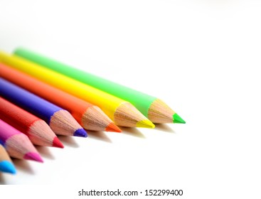 Bunch of color pencils