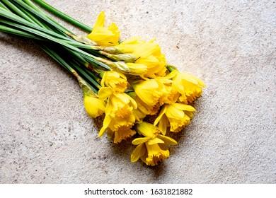 Bunch  of daffodils  st davids  day