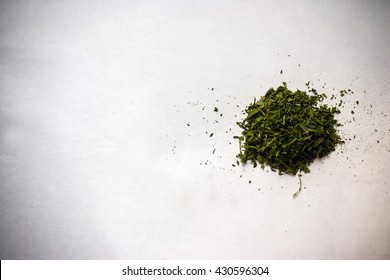 a bunch of dry medicinal cannabis marijuana intended for smoking for medical purposes