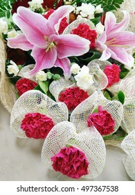 Bunch of flower, bouquet for wedding