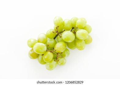 bunch of green Seedless Grapes.