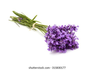 a bunch of lavender flowers