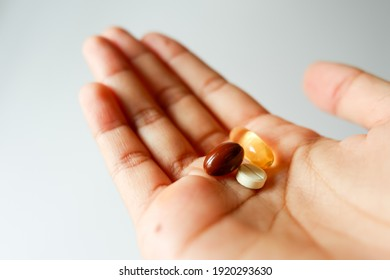 A bunch of multivitamin to maintain our health.