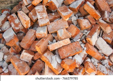 A bunch of old bricks