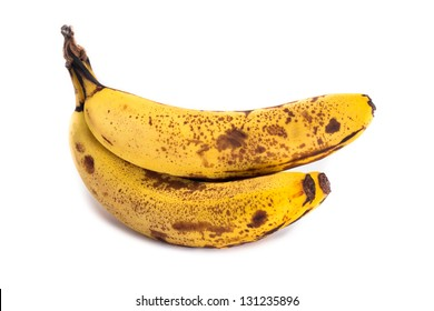 Bunch of over ripe bananas