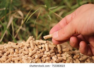 Bunch of pellets