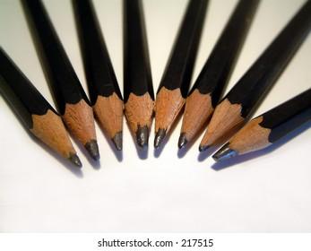 Bunch of pencils.
