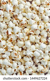 Bunch of popcorn seen from above