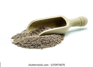 Bunch of psyllium isolated on white background