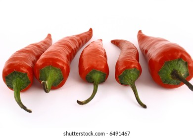 bunch of red hot chilli pepper tied by rope