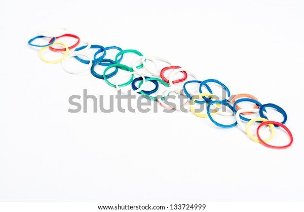 bunch of rubber bands