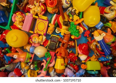 A Bunch of small toys