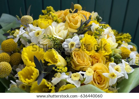 Bunch yellow flowers photo stock photo edit now 636440060 bunch of yellow flowers photo mightylinksfo