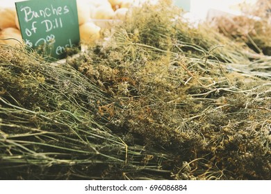 Bunches of Dill for Sale