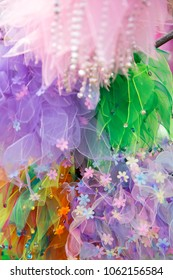bunches of tulle costume pieces
