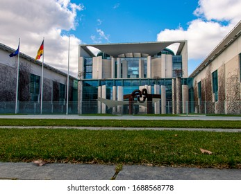 The Bundeskanzleramt (Federal Chancellery) of Germany in Berlin