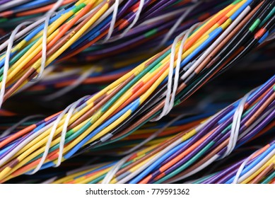 Electrical Colorful Cables Wires Stock Photo (Edit Now)- Shutterstock