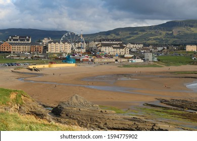 Bundoran beach Donegal Ireland in summer