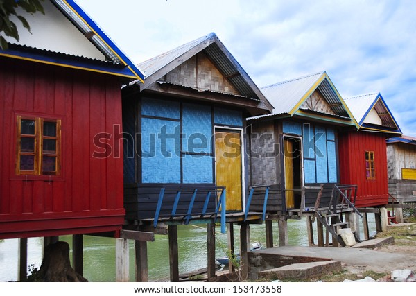 bungalow in Don-Det,  Si-Phan-Don (Four Thousand Islands) is a group of islands in the Mekong River in Southern Laos.