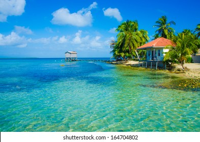 Bungalow on paradise island