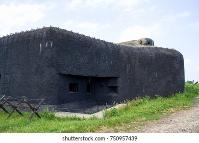 Bunker of II world war, Milostovice, Czech republic, Europe