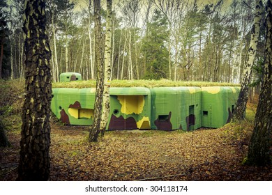 Bunker at seashore - Hel, Poland