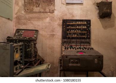 Bunker in Thang Long Citadel in Hanoi, Vietnam
