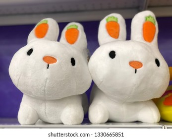 Bunny puppet doll Easter kids toy gift